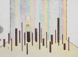 Untitled, Oil on Canvas, 100 x 200 cm. 2012無題, 布面油畫, 100 x 200 cm, 2012
