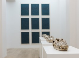 Sherrie Levine (installation view), 2014 (image courtesy of Simon Lee Gallery and Kitmin Lee Photo)