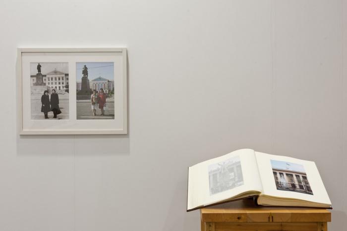Erbossyn Meldibekov, Family Album, photo album and 10-13 framed photographs, 2007
