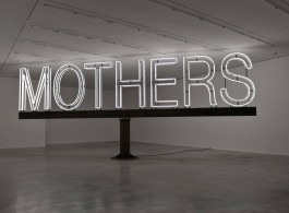 "Martin Creed, ""Work No. 1092"", white neon, steel, 500 x 1250 x 20 cm, 2011. (Installation at Hauser & Wirth Savile Row, London, © Martin Creed)"