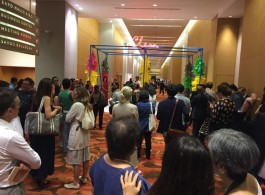 Entrance to ArtStage Singapore