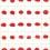 "Tehching Hsieh, ""Paint. Red Repetitions"", acrylic on paper, 30-sheet sketchbook, 38.1 x 53.3 cm, 1973謝德慶,《畫. 紅的重複,壓克力彩,紙,三十頁素描本,38.1 x 53.3公分,1973年"