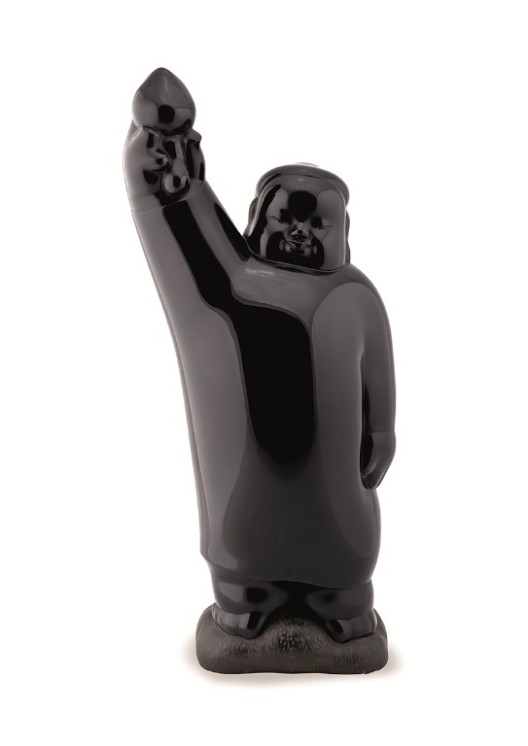 Lot 拍品编号 49 LI CHEN 李真 (Chinese, B. 1963) The Buddha's Smile《拈花微笑》 bronze sculpture 铜 雕塑 32 x 22 x 70 cm. (12 5/8 x 8 5/8 x 27 1/2 in.) edition: EA 4/4 版数:EA 4/4 Executed in 2000, 2000 年作 HK$  800,000- 1,000,000 US$  102,600-  128,200