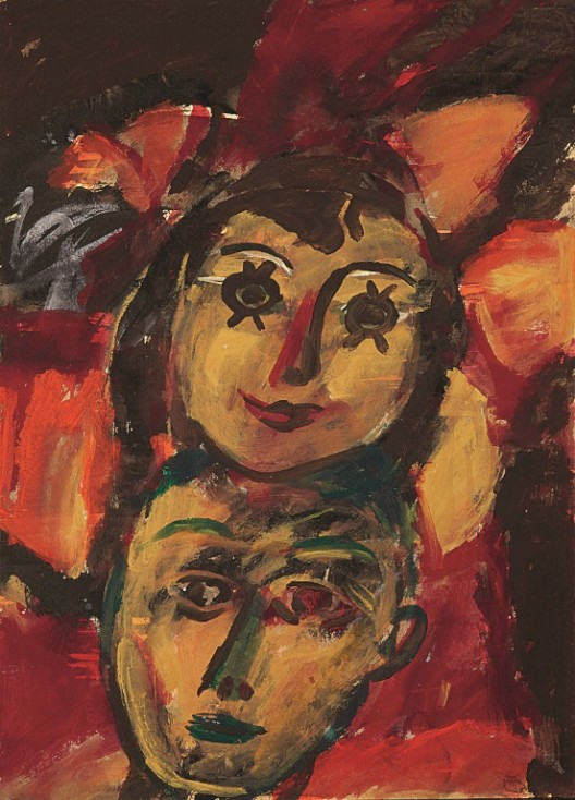 Lot 拍品编号 6 T'ANG HAYWEN 曾海文 (TANG THIEN PHUOC HAYWEN, ZENG HAIWEN, Chinese, 1927-1991) Untitled 《无题》 gouache, ink and watercolour on Kyro card 粉彩 水墨 水彩 纸卡 70 x 50 cm. (27 1/2 19 3/4 in.)  Executed1972 年作 1972  HK$  300,000-  500,000 US$   38,500-   64,100