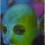 "Justin Mortimer, ""Hijab II,"" oil on canvas, 30 x 20 cm, 2014."