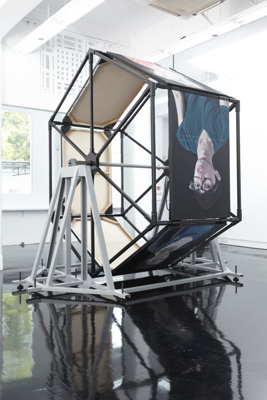 "Wong Lip Chin, ""Thousand Knives,"" exhibition view, Michael Janssen Singapore."