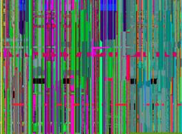 《紫气2014 No.3》(局部) 400 x 400 厘米 布面油画 由艺术家提供