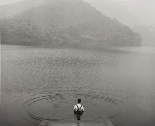 """Tang Dixin, """"Backpack,"""" mixed media, 200 x 146 cm, 2012唐狄鑫,《背包》,综合材料,200 x 146 cm,2012"""