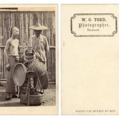 3. W.G.托德照相馆,汉口,1860年代,名片格式蛋白照片 W.G.Todd, Hankow, 1860s, Albumenprint carte de visite