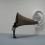 "John Baldessari, ""Beethoven's Trumpet (with Ear) Opus # 127,"" resin, fiberglass, bronze, aluminum, and electronics, 185 x 183 x 267 cm, 2007."