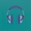 "Michael Craig-Martin, ""Untitled (headphones medium)"", acrylic on aluminium, 122 x 122 cm (unframed), 2014 (© Michael Craig-Martin)迈克尔·克雷格-马丁,《无题(中号耳机)》,铝板丙烯,122 x 122 cm (无框),2014(© Michael Craig-Martin)"