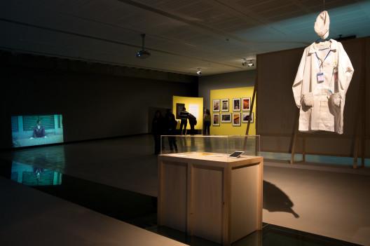 """Utopia for Sale. A tribute to Allan Sekula"", exhibition view, MAXXI, 2014. Photo: Musacchio & Ianniello. Courtesy MAXXI Foundation《出售乌托邦。向 Allan Sekula 致意》, 展览现场,罗马二十一世纪国立现代美术馆,2014. 摄影: Musacchio & Ianniello,图片惠允: 罗马二十一世纪国立现代美术馆基金会"