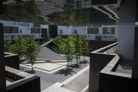 A view of Inside-Out Museum, Beijing