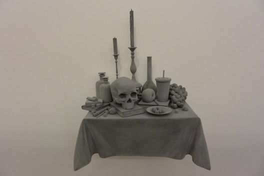 Hans op de Beeck at Galeria Continua (Beijing, Les Moulins, San Gimignano)–another artist whose work was present at several booths.