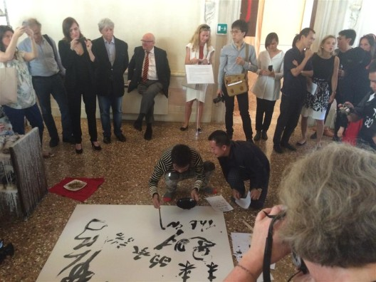 Zheng Guogu and Yangjiang Group's performance for the DSL Collection event at Palazzo Morosini (where we fought over delicious Cantonese canapés)