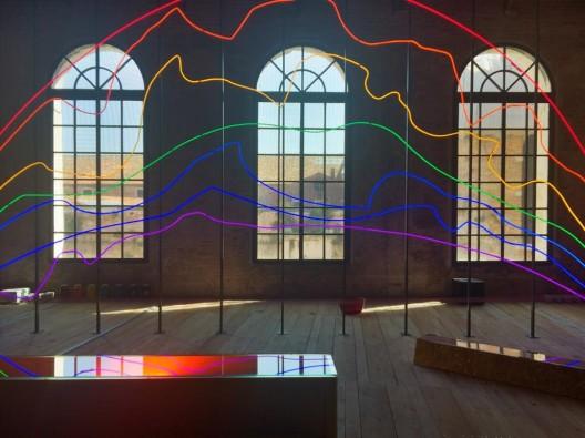 Respiro, Sarkis's installation for the Pavilion of Turkey