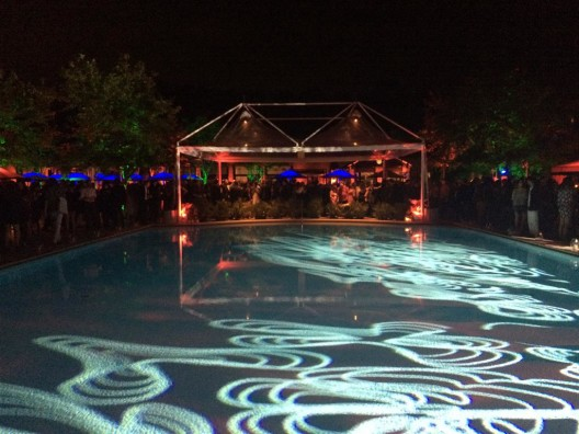 A picture I took at the party for the Pavilion of Turkey (it was dark and I wasn't sober)