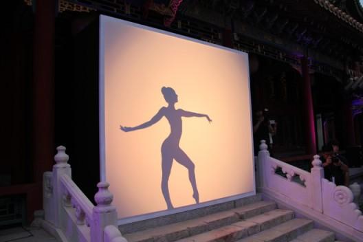 法国舞团的现场表演