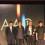 L-R: CEO of Artron Culture Wan Jie, Huang Zhuan, Zhang Peili, Wang Ya Min,雅昌文化集团董事长万捷、本届终评评委黄专、张培力,故宫博物院常务副院长王亚民