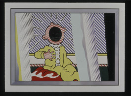 Roy Lichtenstein, Reflections on the Scream, 1990.  Collection of Singapore Art Museum.  Image courtesy of Singapore Art Museum.  (c) Estate of Roy Lichtenstein.