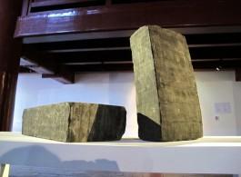 "Li Hongbo, ""Brick"", (2 pieces)Paper, Dimensions variable, 2014李洪波,《砖》,纸,尺寸可变,2014"