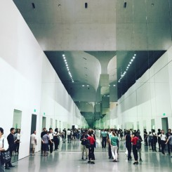 Exhibition view (architectural space: designed by Herzog & de Meuron)   展览场景(建筑空间:赫尔佐格和德梅隆建筑事务所设计)