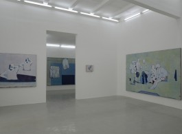 Tang Yongxiang, solo exhibition view at Magician Space.
