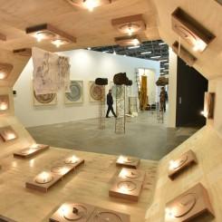 """""""Artecamara"""", exhibition view at ArtBo."""