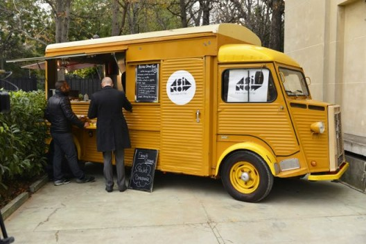 Food truck of ASIA NOW, (Copyright—Jean Picon and ASIA NOW)