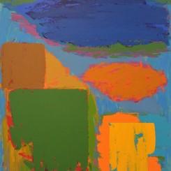 """John Hoyland, """"Longspeak 18.4.79"""", acrylic on canvas, 1979, 243.8 x 213.4 cm, . Image © The John Hoyland Estate."""