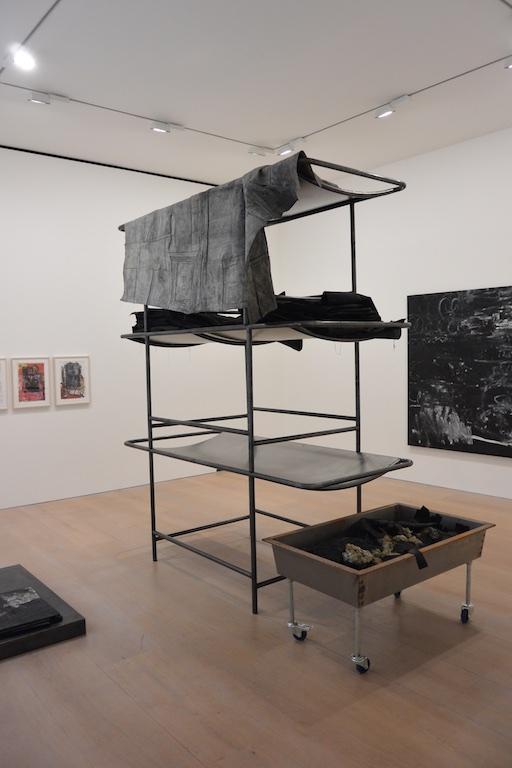 《奥斯卡·穆里略:二元函数》展览现场,卓纳画廊
