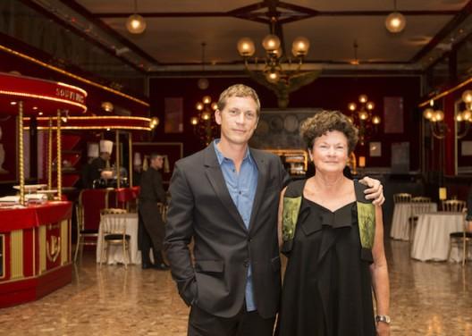 Chantal Crousel and Niklas Svennung, Galerie Chantal Crousel's 35th anniversary, Cirque d'Hiver, Paris © photo Astrid Jamois