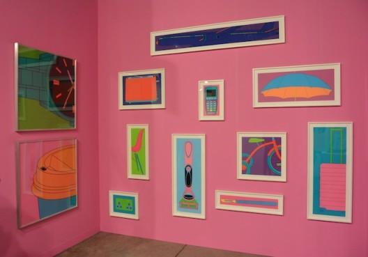 Michael Craig-Martin solo at Alan Cristea Gallery, London