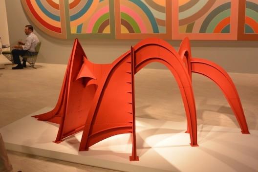 Alexander Calder and Frank Stella at Edward Tyler Nahem, New York