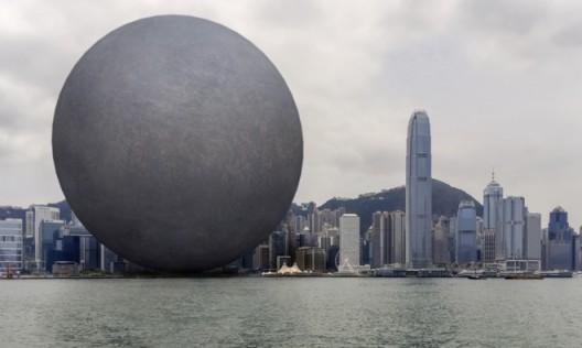 张增增 & 妙果数码,《无形之形—港澳自由行》,增强现实摄影, 尺寸可变, 2015
