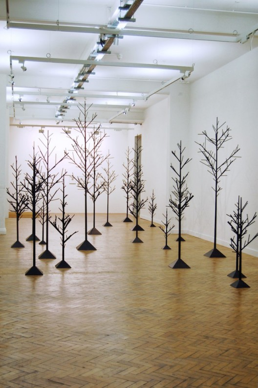 Peter Liversidge Ingleby Gallery Trees (2010-2015) courtesy the artist and the gallery