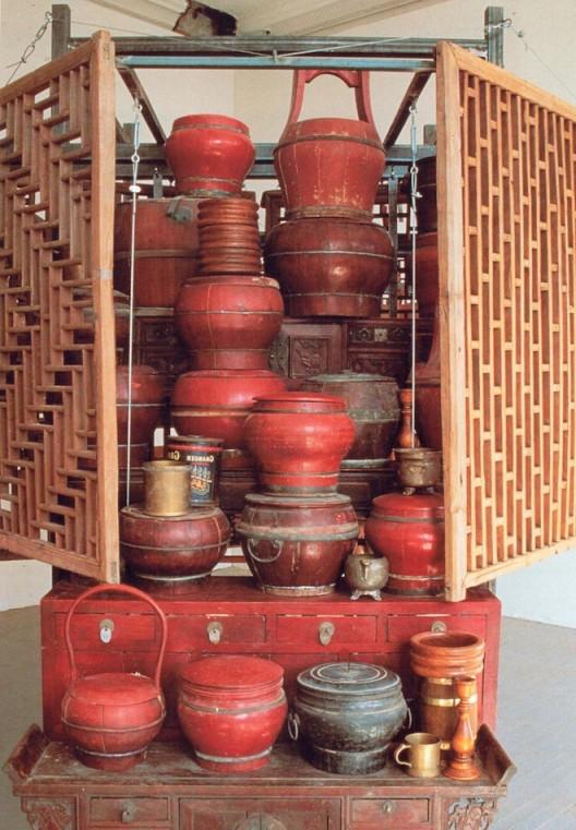 Chen Zhen Opening of a Closed Center (1997 de Sarthe Gallery Image courtesy de Sarthe Gallery