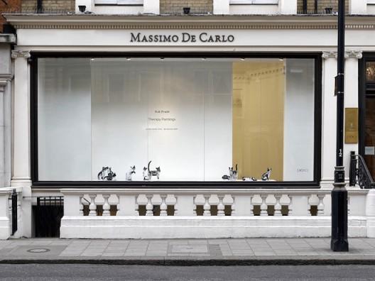 Massimo De Carlo gallery at Mayfair, London