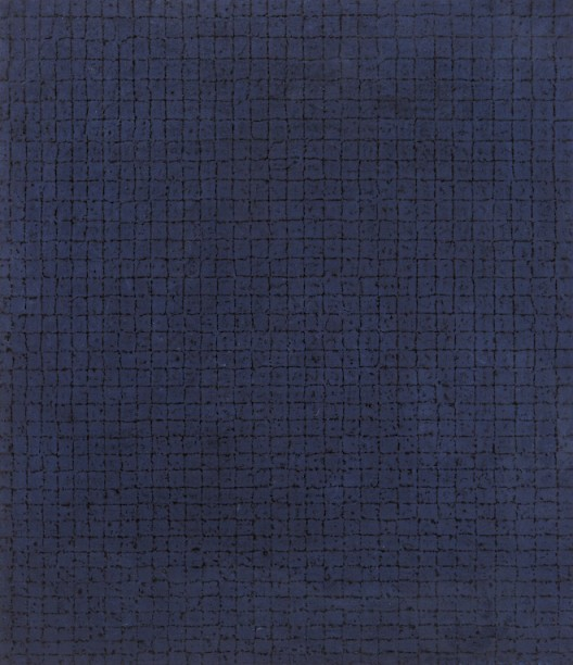Chung Sang-Hwa, Untitled 83-12-15, 1983. Acrylic on canvas. 31 1/2 x 25 5/8 inches (80 x 65 cm). © 2016 Chung Sang-Hwa.