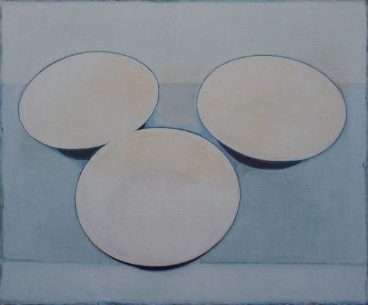 Tang Yongxiang, Three Basins, Oil on canvas, 150×180cm, 2015 (Courtesy the artist and Magician Space)