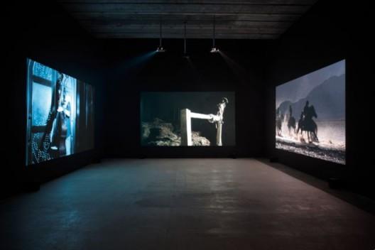 程然,《热血、温血、冷血》, 展览现场, 2011  Cheng Ran,