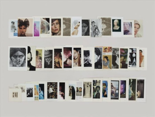 泰伦·西蒙,《文件夹:服装——面纱》,档案专用喷墨印刷,119.4 x 157.5 cm,2012