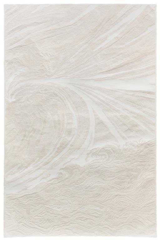 "Fu Xiaotong, ""Fierce Gale #2"", handmade paper, 250 x 160 cm, 2016. Chambers Fine Art (booth 1D04)"