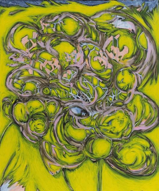 陈熹Chen-Xi_我是你的物质12号I-Am-Your-Matters-No.12_2015_布面丙烯Acrylic-on-canvas_120x100cm