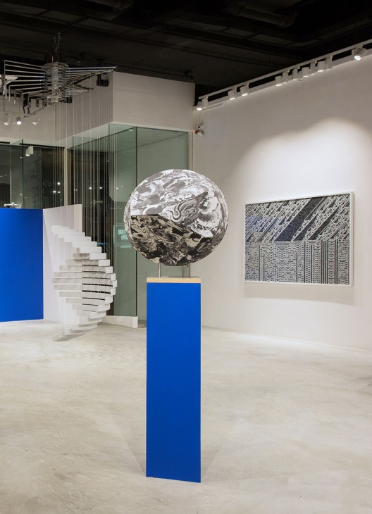 """Troika, """"Everything Is and Isn't at the Same Time"""", exhibition view at Galerie Huit"""