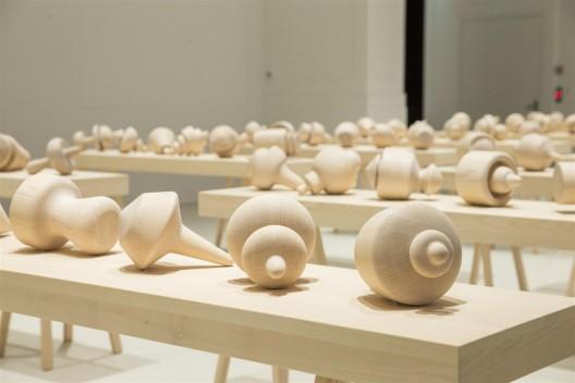 Allan McCollum at Galerie Thomas Schulte, Art Basel Parcours