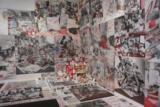 Anna Opperman in the Feature section was a new iteration of the late artist's recent show at Barbara Thumm, Berlin