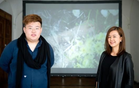 Curator Shi Jian&Shu Wenjing策展人史健,出品人舒文靖