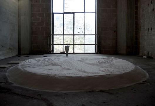 玛卓林·戴克曼,《月球空间站——移动轴心》,2015 (图片版权归艺术家所有)
