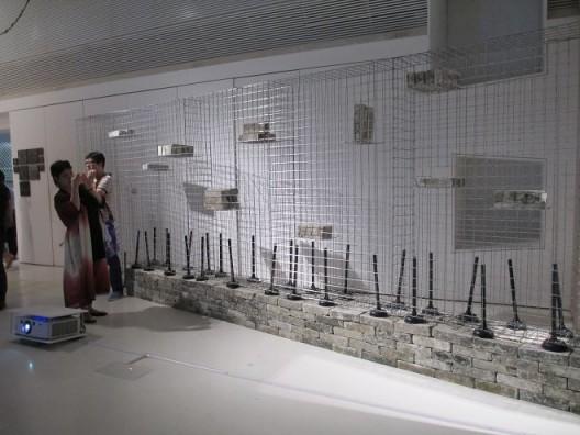 林一林,《住器陈列之一》,装置,1992. Lin Yilin,